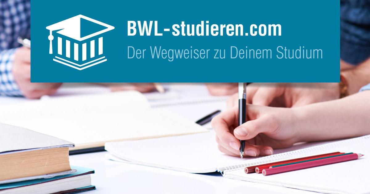 Bwl Studierencom Alle Infos Studiengänge Hochschulen